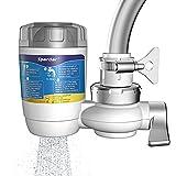 Spardar Sistema de filtrado de Agua, Filtro de Agua para Grifo con Cartuchos de Filtro de Agua, Apto para grifos estándar (07 filtros de Grifo)