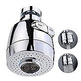 Qoosea Aireador De Grifo de 360 Grados, Grifo Universal Dispositivo de Extensión de Rociador Filtro, Grifo Anti-Salpicadura,Boquilla de Filtro Adaptador de Malla para Cocina, Cuarto de baño